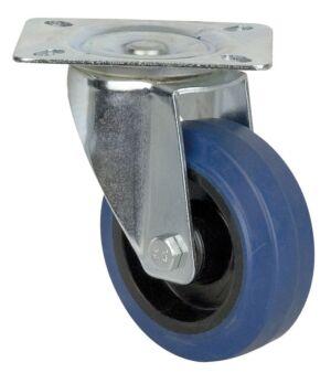 Blue Wheel, 100 mm Giratoria, sin freno