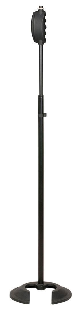 Quick lock microphone stand Con contrapeso