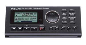 TASCAM GB-10. Trainer/Grabadora para guitarra y bajo, tarjeta SD