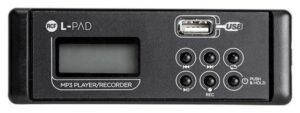 Tarjeta USB MP3 - RCF L-PAD Player/Recorder Card