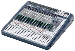 Soundcraft Signature 16. Mesa de mezclas