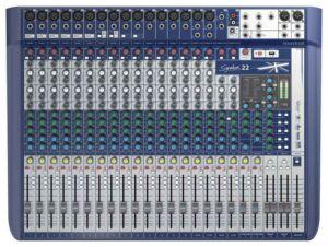 Soundcraft Signature 22. Mesa de mezclas