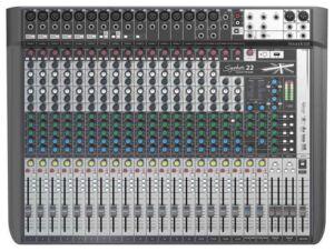 Soundcraft Signature 22MTK. Mesa de mezclas