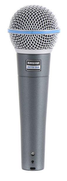 Micrófono para voz Shure Beta 58A
