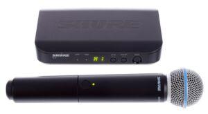 SHURE BLX24/B58 Micrófono inalámbrico