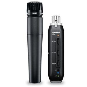 SET USB-XLR SHURE SM57-X2U