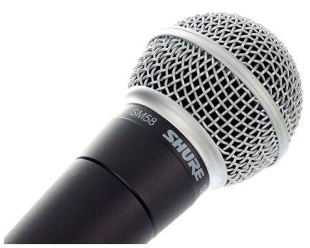 Micrófono dinámico Shure SM 58 LC
