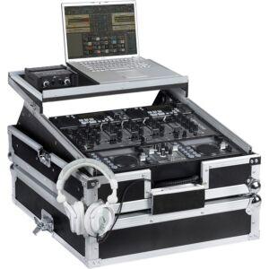 Flight case rack DJ de 19 'WM-1912LTS