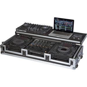 Flight case para reproductor CD 12'' y mezcladora dj 12''