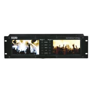 """DLD-72 MKII Pantalla dual de 7"""" con conexión HDMI"""