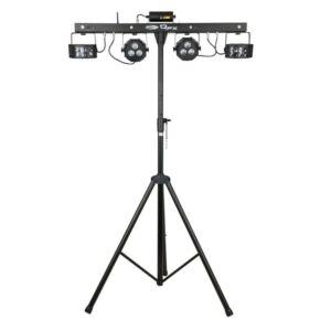 QFX Juego de iluminación compacto DJ