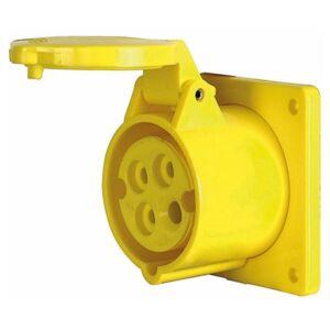 CEE Form 16A 4 Pin Socket Female Carcasa amarilla