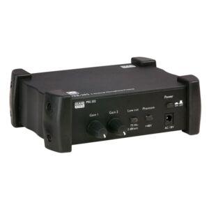 PRE-202 Preamplificador de micrófono de 2 canales