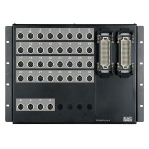 Stagebox Montada, 32 entradas, 4 salidas, conectores Neutrik