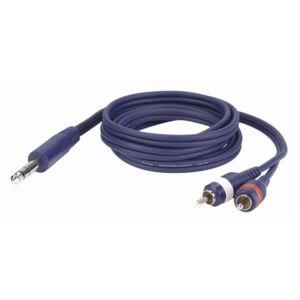 FL35 - Stereo Jack 2 RCA Male L/R 1,5 m