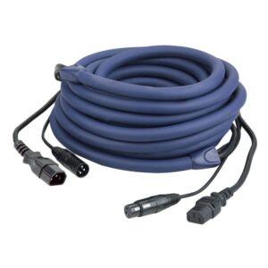 FP12 - IEC/XLR M - IEC/XLR F Combi 1,5m