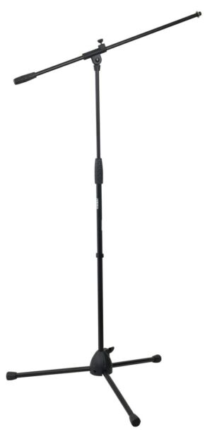 Eco Microphones stand with boom arm 890-1460 mm base de plástico