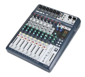 Soundcraft Signature 10. Mesa de mezclas