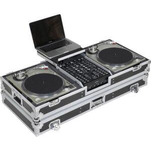Flight case para tocadiscos y mezcladora dj 10'' 'WMDJ-10BLTS