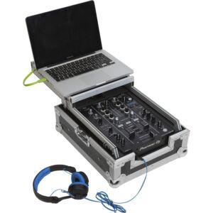 Flight case para mezclador de música y media player 10