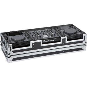 Flight case para reproductor CD 12'' y mezcladora dj 18''