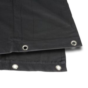 Adam Hall Accessories 0152 X 33 Tela B1 nero con ojales brunito 3 x 3 m