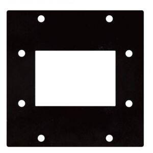 Placa para Harting 6 polos 2 segmentos