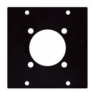 Placa para conector bulgin 230V