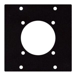 Placa para conector Schuko