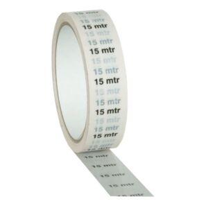 Markertape 25 mm/33 m blanco