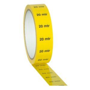 Markertape 25 mm/33 m amarillo