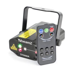 BEAMZ laser titania doble RGB
