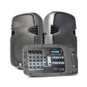 VONYX PSS302 SET PORTATIL SD/USB/MP3/BT