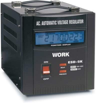 Estabilizador de tensión 5kVA Work ESD 5 K/2