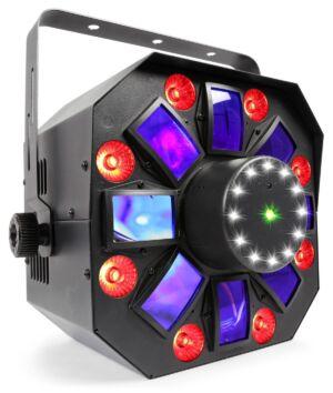 Beamz MultiAcis IV con laser y strobe
