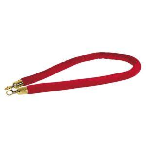 Showtec cuerda catenaria roja gancho dorado