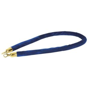 Showtec cuerda catenaria azul gancho dorado