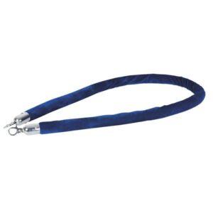 Showtec cuerda catenaria azul gancho plateado
