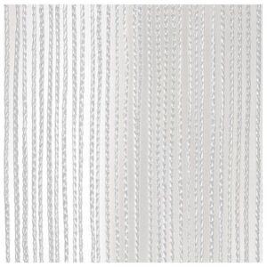 Wentex Cortina de cuerda blanca 3 m longitud