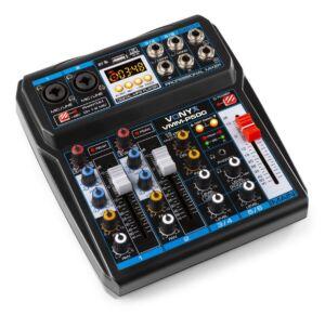 Vonyx VMM-P500 Mezclador 4 ch